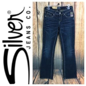 ☮️NWT Silver Jeans Aiko Fit denim jean in size 28
